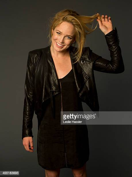 Actress Caity Lotz is photographed on April 21 2013 in New York City