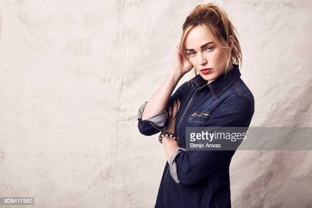 Actress Caity Lotz of CW's 'DC's Legends of Tomorrow' poses for a portrait during the 2017 Summer Television Critics Association Press Tour at The...