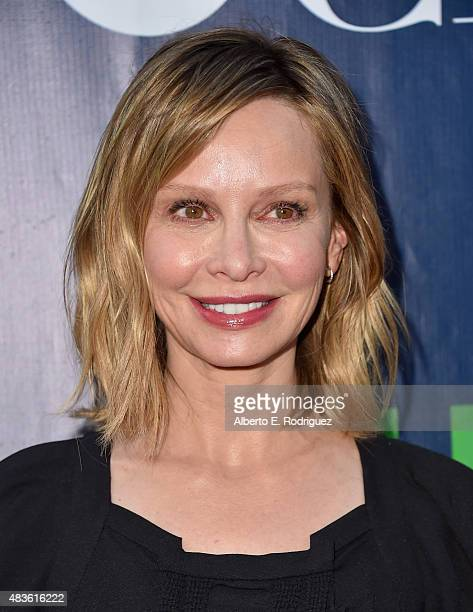 Actress Calista Flockhart attends CBS' 2015 Summer TCA party at the Pacific Design Center on August 10 2015 in West Hollywood California