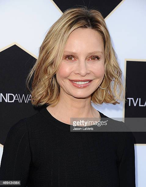 Actress Calista Flockhart attends the 2015 TV LAND Awards at Saban Theatre on April 11 2015 in Beverly Hills California