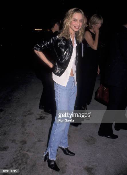 Actress Calista Flockhart attends the 'Bash LatterDay Plays' Opening Night Performance After Party on June 24 1999 at Local in New York City