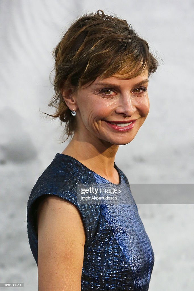 Actress Calista Flockhart attends the premiere of Warner Bros. Pictures' And Legendary Pictures' '42' at TCL Chinese Theatre on April 9, 2013 in Hollywood, California.