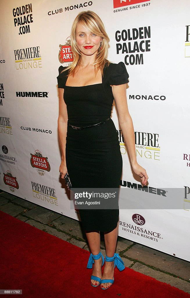 Actress Cameron Diaz arrives at the 'In Her Shoes' gala premiere after party at Club Monaco during the 2005 Toronto International Film Festival...