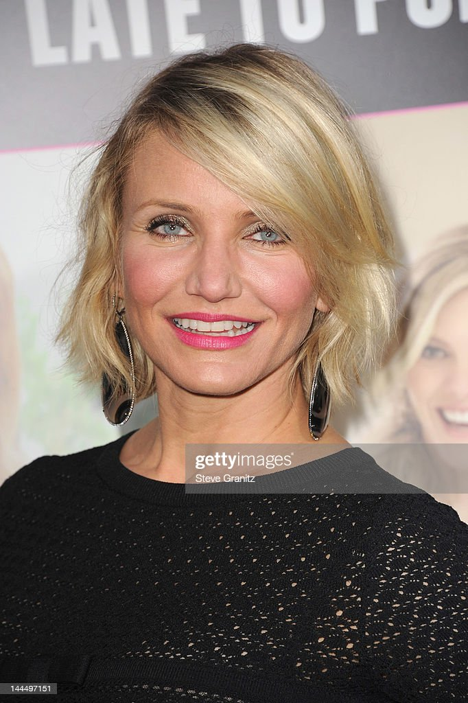 Actress Cameron Diaz arrives at the Los Angeles premiere of 'What To Expect When You're Expecting' at Grauman's Chinese Theatre on May 14, 2012 in Hollywood, California.