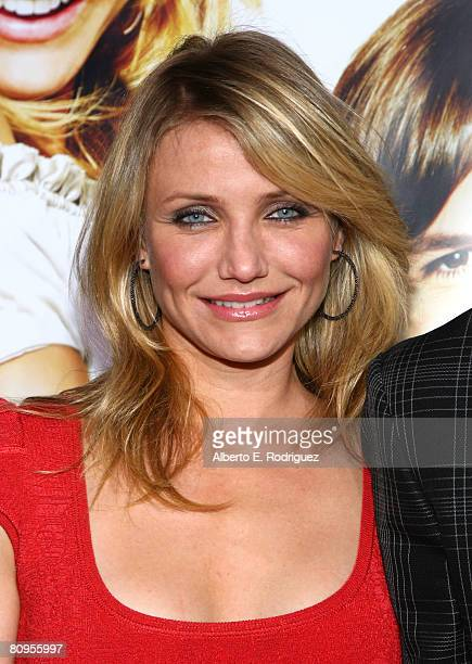 Actress Cameron Diaz arrives at the premiere of ''What Happens In Vegas'' on May 1 2008 in Westwood California