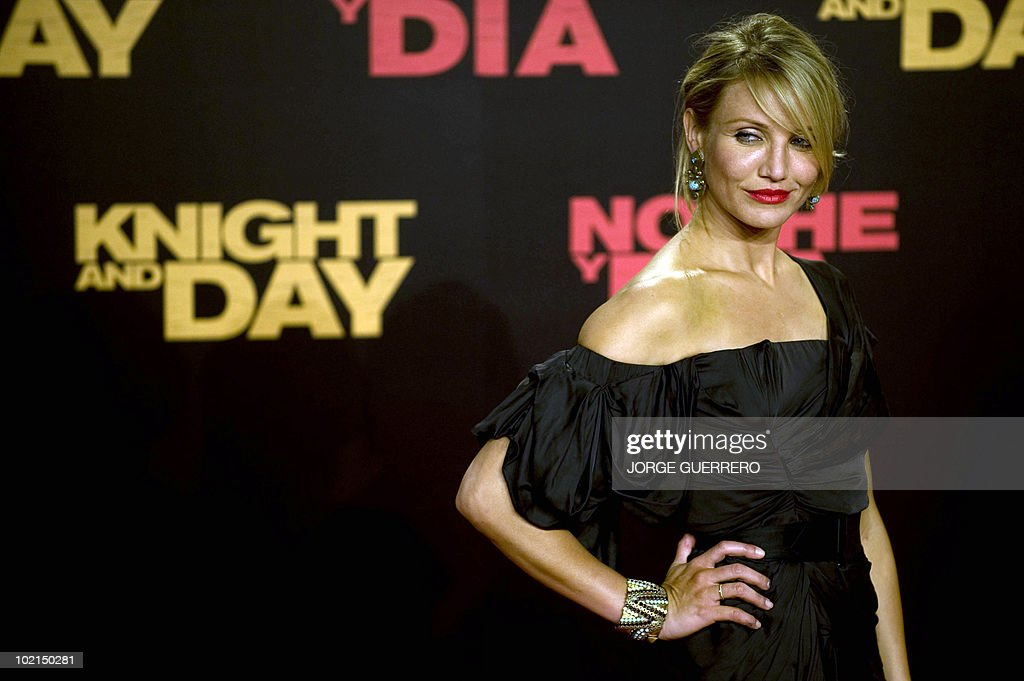 US actress Cameron Diaz arrives for the international film premiere of her new film 'Knight and Day' by US director James Mangold in Sevilla on June 16, 2010.