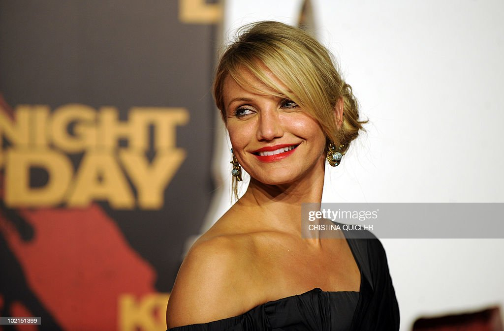 US actress Cameron Diaz arrives for the international film premiere of her new film 'Knight and Day' by US director James Mangold in Sevilla on June 16, 2010. Diaz, 37, filmed key scenes of the action-comedy movie in Seville as well as in the nearby coastal city of Cadiz last year.