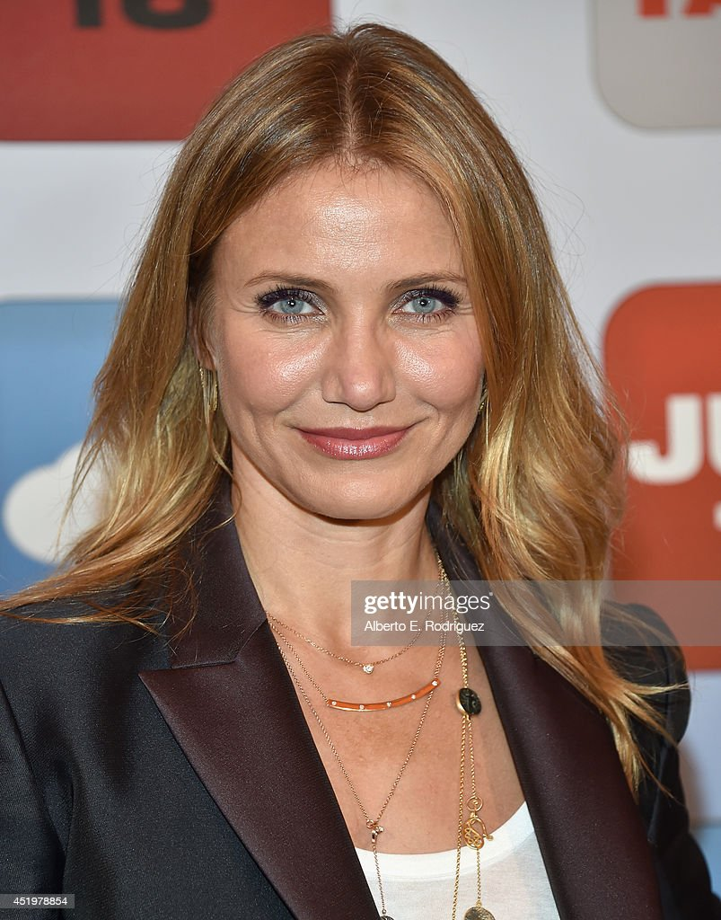 Actress <a gi-track='captionPersonalityLinkClicked' href=/galleries/search?phrase=Cameron+Diaz&family=editorial&specificpeople=201892 ng-click='$event.stopPropagation()'>Cameron Diaz</a> attends a photocall for Columbia Pictures' 'Sex Tape' at The Four Seasons Hotel Los Angeles at Beverly Hills on July 10, 2014 in Beverly Hills, California.