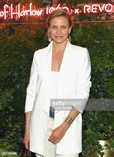 Actress Cameron Diaz attends House of Harlow 1960 x REVOLVE on June 2 2016 in Los Angeles California