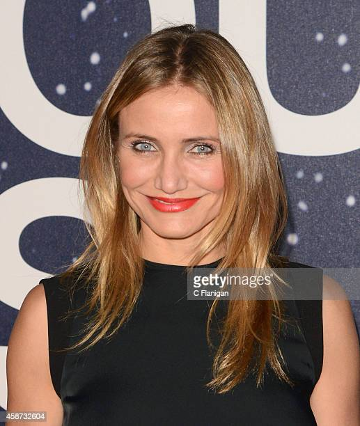 Actress Cameron Diaz attends the 2014 Breakthrough Prize Awards at NASA AMES Research Center on November 9 2014 in Mountain View California