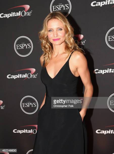 Actress Cameron Diaz attends The 2014 ESPYS at Nokia Theatre LA Live on July 16 2014 in Los Angeles California