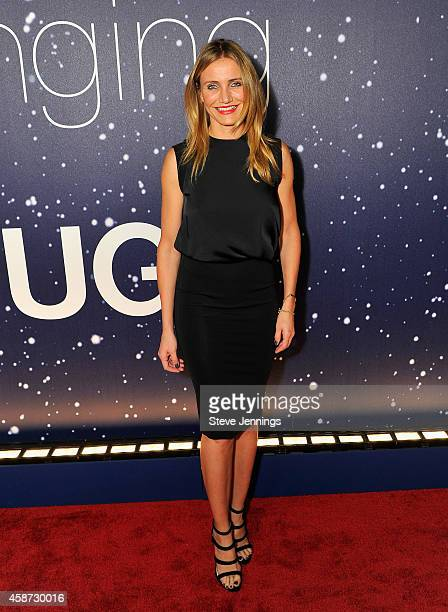 Actress Cameron Diaz attends the Breakthrough Prize Awards Ceremony Hosted By Seth MacFarlane at NASA Ames Research Center on November 9 2014 in...