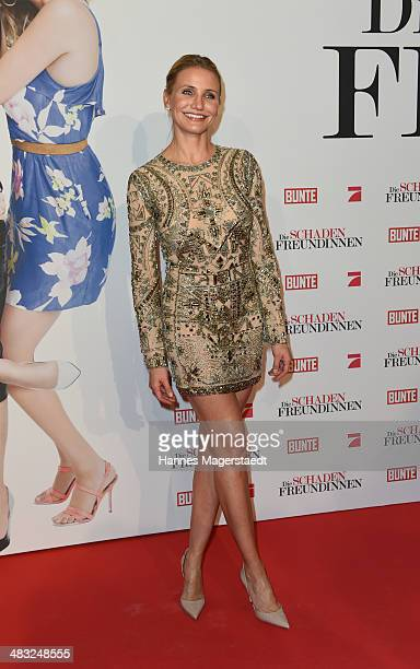 Actress Cameron Diaz attends the German premiere of the film 'The Other Woman' at Mathaeser Filmpalast on April 7 2014 in Munich Germany
