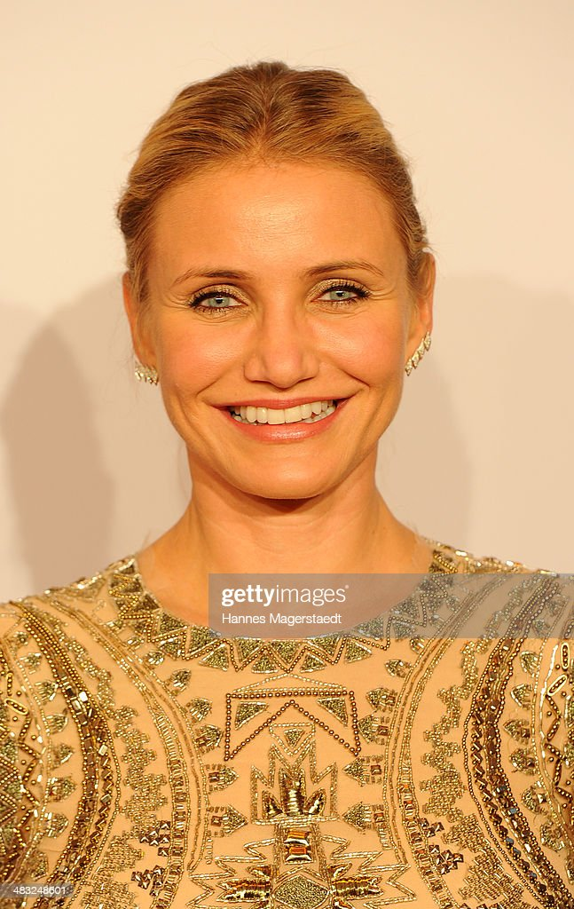 Actress Cameron Diaz attends the German premiere of the film 'The Other Woman' (German title: Die Schadenfreundinnen) at Mathaeser Filmpalast on April 7, 2014 in Munich, Germany.