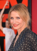 Actress Cameron Diaz attends the premiere of Columbia Pictures' 'Sex Tape' at Regency Village Theatre on July 10 2014 in Westwood California Photo by...