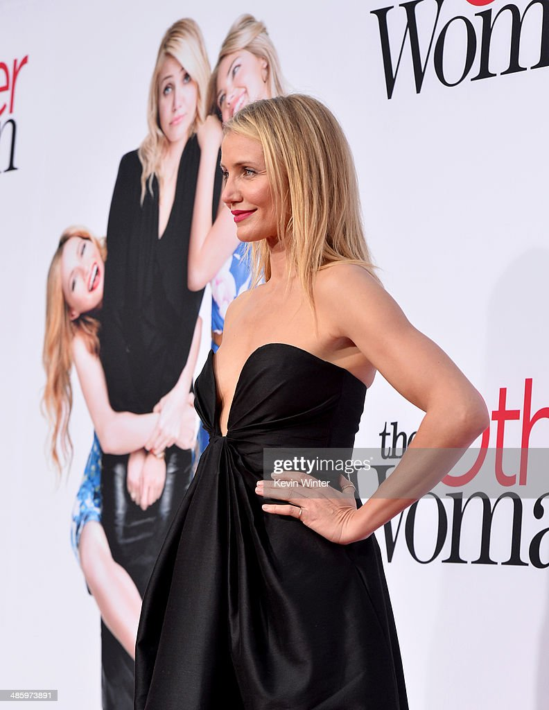 Actress Cameron Diaz attends the premiere of Twentieth Century Fox's 'The Other Woman' at Regency Village Theatre on April 21, 2014 in Westwood, California.