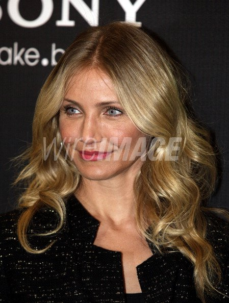 Actress Cameron Diaz attends the The Green Hornet film