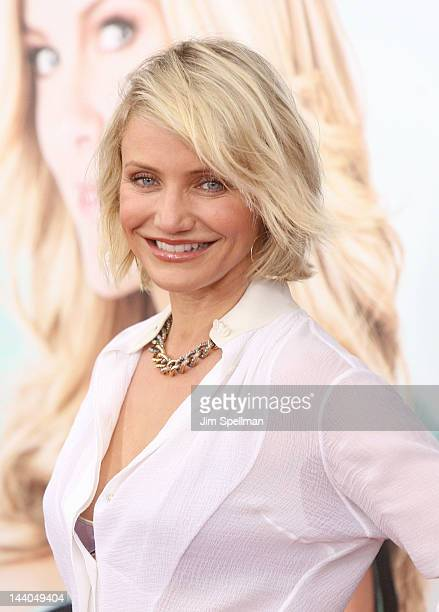 Actress Cameron Diaz attends the 'What To Expect When Your Expecting' premiere at AMC Lincoln Square Theater on May 8 2012 in New York City