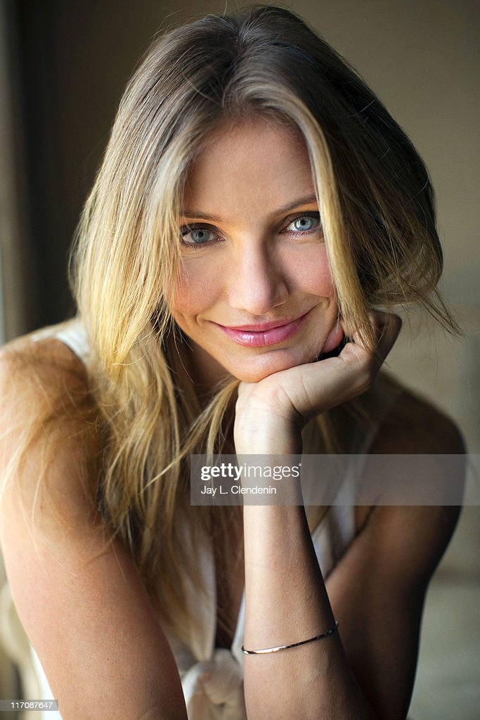 Actress <a gi-track='captionPersonalityLinkClicked' href=/galleries/search?phrase=Cameron+Diaz&family=editorial&specificpeople=201892 ng-click='$event.stopPropagation()'>Cameron Diaz</a> for Los Angeles Times on June 5, 2011 in Beverly Hills, California.