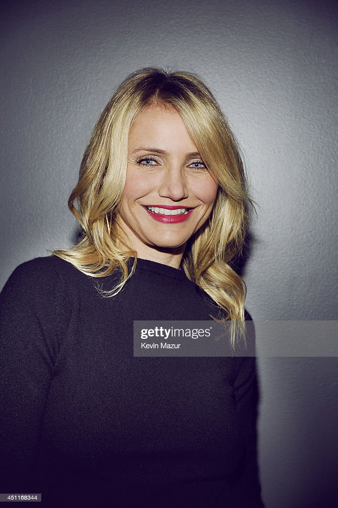 Actress Cameron Diaz poses for a portrait at the MTV Movie Awards Backstage on April 13, 2014 in Los Angeles, California.