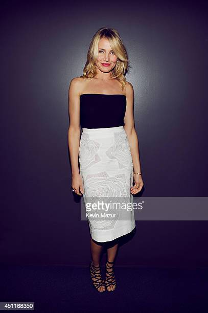 Actress Cameron Diaz poses for a portrait at the MTV Movie Awards Backstage on April 13 2014 in Los Angeles California