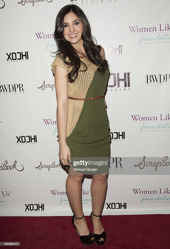 Actress Camila Banus attends Pre-LAFW Launch Party In Support Of The Women Like Us Foundation at Lexington Social House on March 8, 2013 in Hollywood, California.