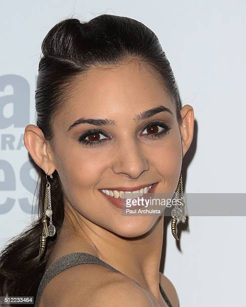 Actress Camila Banus attends Soap Opera Digest's 40th Anniversary celebration at The Argyle on February 24 2016 in Hollywood California