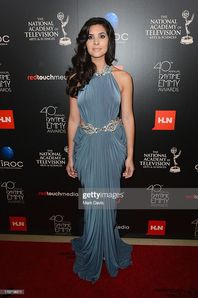 Actress Camila Banus attends The 40th Annual Daytime Emmy Awards at The Beverly Hilton Hotel on June 16, 2013 in Beverly Hills, California.