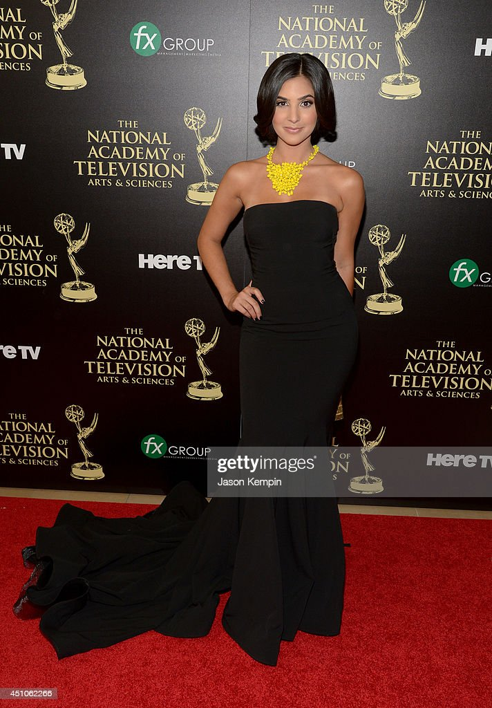 Actress Camila Banus attends The 41st Annual Daytime Emmy Awards at The Beverly Hilton Hotel on June 22, 2014 in Beverly Hills, California.