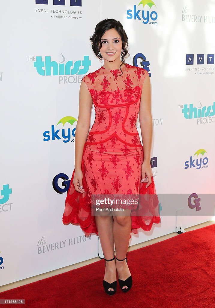 Actress Camila Banus attends the 4th annual Thirst Gala at The Beverly Hilton Hotel on June 25, 2013 in Beverly Hills, California.