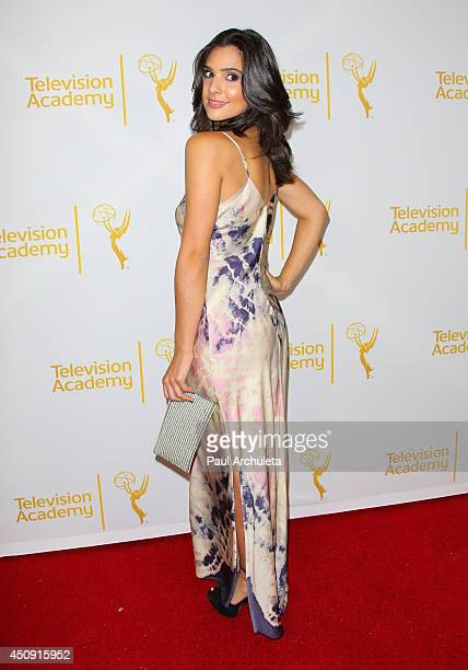 Actress Camila Banus attends the Daytime Emmy Nominee Reception at The London West Hollywood on June 19 2014 in West Hollywood California