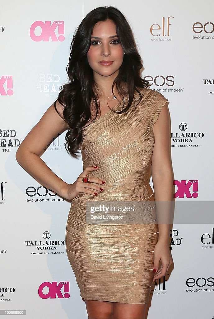 Actress Camila Banus attends the OK! Magazine 'So Sexy' LA party at SkyBar at the Mondrian Los Angeles on April 17, 2013 in West Hollywood, California.