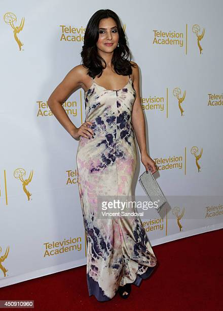 Actress Camila Banus attends the Television Academy Daytime Emmy Nominee reception at The London West Hollywood on June 19 2014 in West Hollywood...