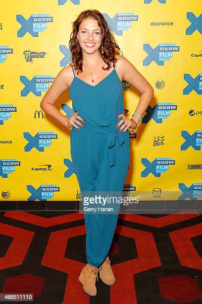 Actress Camila Greenberg attends the premiere of 'Ktown Cowboys' during the 2015 SXSW Music Film Interactive Festival at Alamo Lamar B on March 15...