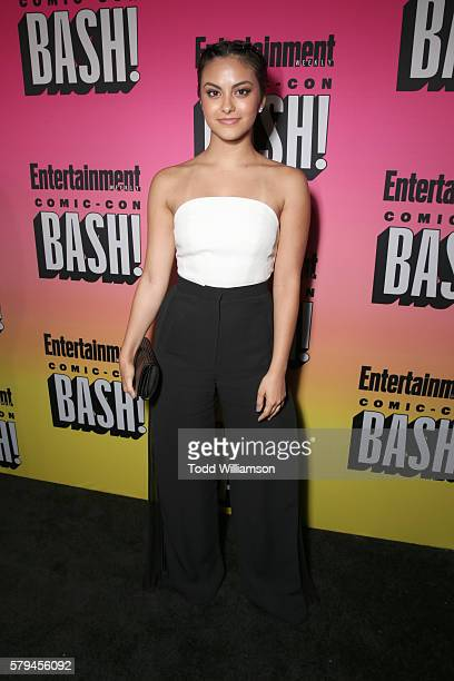 Actress Camila Mendes attends Entertainment Weekly's ComicCon Bash held at Float Hard Rock Hotel San Diego on July 23 2016 in San Diego California...