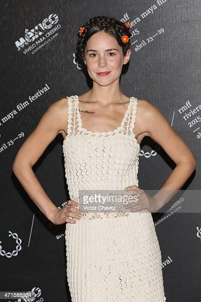 Actress Camila Sodi attends the Riviera Maya Film Festival 2015 closing night gala at Hotel Yucatan Platinum Princess on April 29 2015 in Playa del...