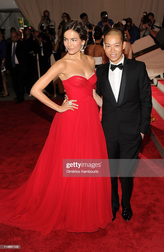 Actress Camilla Belle and designer Jason Wu attend the Costume Institute Gala Benefit to celebrate the opening of the 'American Woman: Fashioning a National Identity' exhibition at The Metropolitan Museum of Art on May 3, 2010 in New York City.