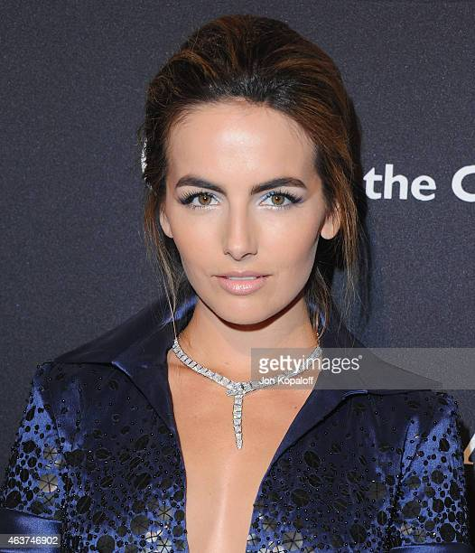Actress Camilla Belle arrives at BVLGARI And Save The Children STOP THINK GIVE PreOscar Event at Spago on February 17 2015 in Beverly Hills California