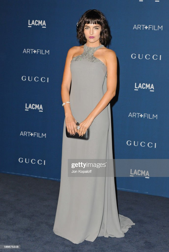 Actress <a gi-track='captionPersonalityLinkClicked' href=/galleries/search?phrase=Camilla+Belle&family=editorial&specificpeople=210585 ng-click='$event.stopPropagation()'>Camilla Belle</a> arrives at LACMA 2013 Art + Film Gala at LACMA on November 2, 2013 in Los Angeles, California.