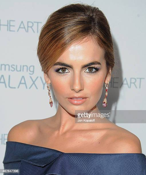 Actress Camilla Belle arrives at The Art Of Elysium 8th Annual Heaven Gala at Hangar 8 on January 10 2015 in Santa Monica California