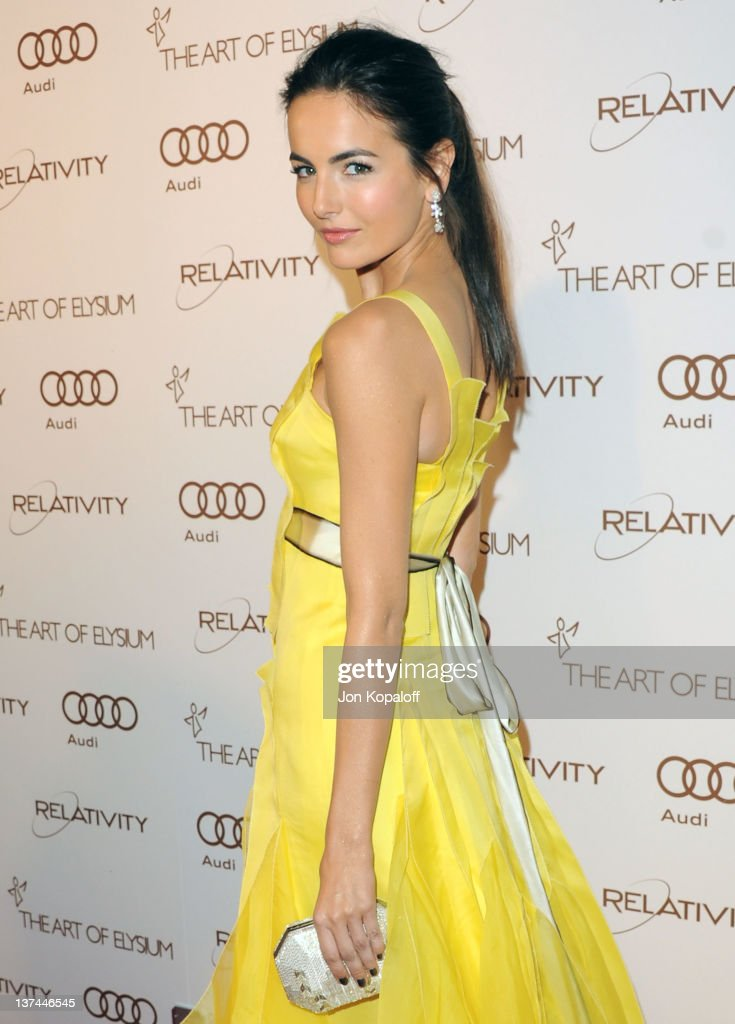 Actress <a gi-track='captionPersonalityLinkClicked' href=/galleries/search?phrase=Camilla+Belle&family=editorial&specificpeople=210585 ng-click='$event.stopPropagation()'>Camilla Belle</a> arrives at the Art of Elysium's 5th Annual Heaven Gala held at Union Station on January 14, 2012 in Los Angeles, California.