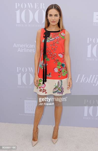 Actress Camilla Belle arrives at The Hollywood Reporter's Annual Women In Entertainment Breakfast at Milk Studios on December 9 2015 in Los Angeles...