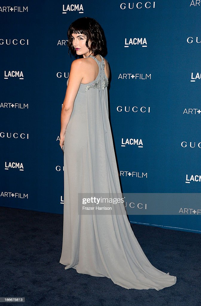 Actress Camilla Belle arrives at the LACMA 2013 Art + Film Gala on November 2, 2013 in Los Angeles, California.