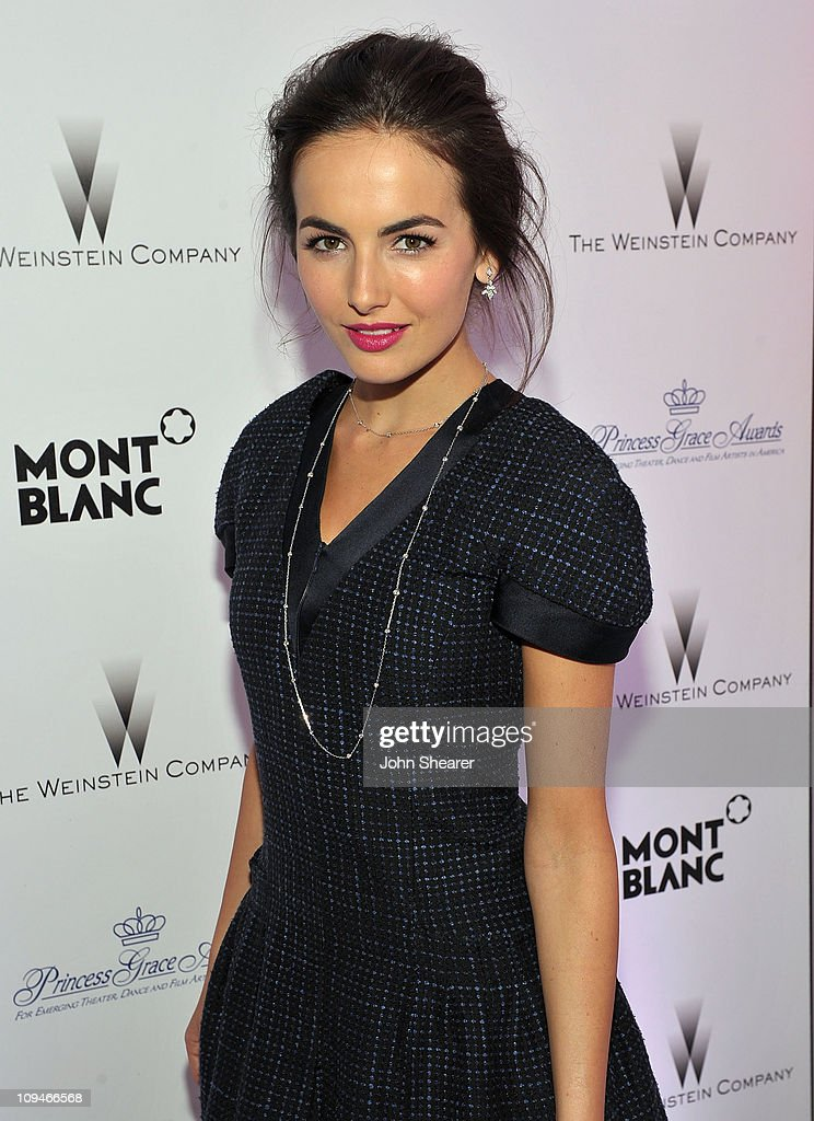 Actress <a gi-track='captionPersonalityLinkClicked' href=/galleries/search?phrase=Camilla+Belle&family=editorial&specificpeople=210585 ng-click='$event.stopPropagation()'>Camilla Belle</a> arrives at the Montblanc Cocktail Party co-hosted by Harvey and Bob Weinstein celebrating the Weinstein Company's Academy Award Nominees and the New Montblanc Charity Partnership with the Princess Grace Foundation-USA at Soho House on February 26, 2011 in West Hollywood, California.