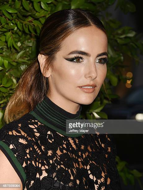 Actress Camilla Belle arrives at the Salvatore Ferragamo 100 Years In Hollywood celebration at the newly unveiled Rodeo Drive flagship Salvatore...
