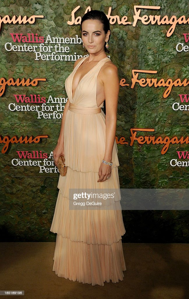 Actress Camilla Belle arrives at the Wallis Annenberg Center For The Performing Arts Inaugural Gala at Wallis Annenberg Center for the Performing Arts on October 17, 2013 in Beverly Hills, California.