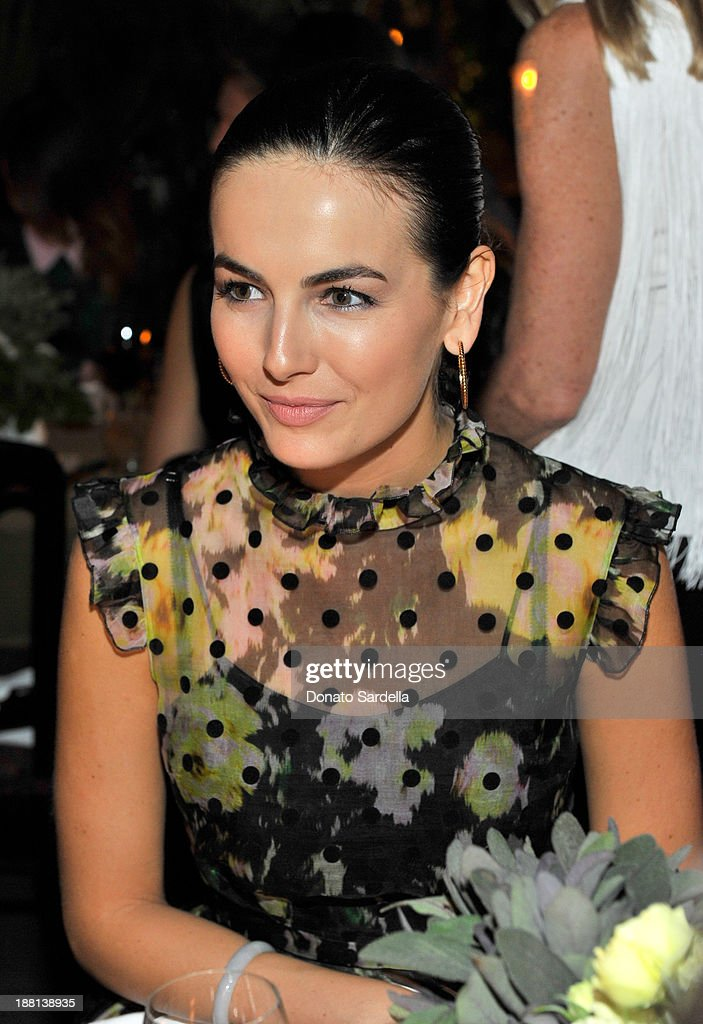 Actress <a gi-track='captionPersonalityLinkClicked' href=/galleries/search?phrase=Camilla+Belle&family=editorial&specificpeople=210585 ng-click='$event.stopPropagation()'>Camilla Belle</a> attends a dinner in honor of Erdem hosted by Lisa Love and presented by NARS at Chateau Marmont on November 14, 2013 in Los Angeles, California.