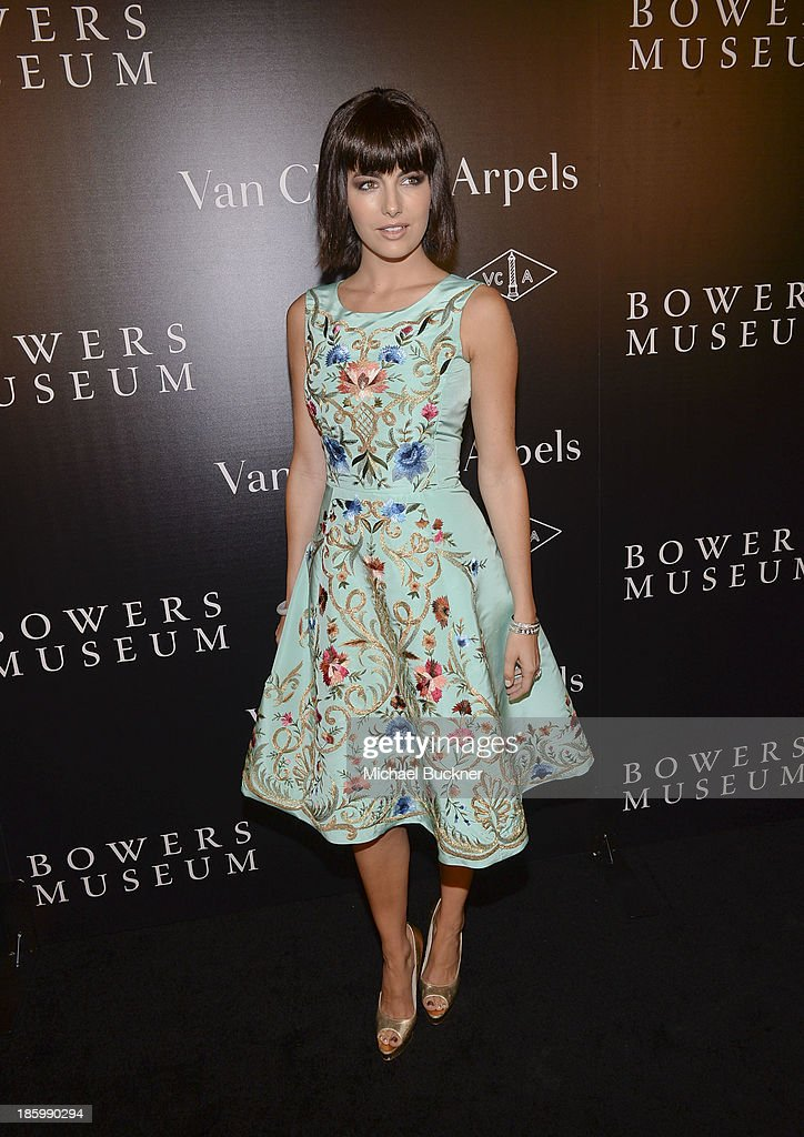 Actress <a gi-track='captionPersonalityLinkClicked' href=/galleries/search?phrase=Camilla+Belle&family=editorial&specificpeople=210585 ng-click='$event.stopPropagation()'>Camilla Belle</a> attends A Quest for Beauty: The Art Of Van Cleef & Arpels - Red Carpet at The Bowers Museum on October 26, 2013 in Santa Ana, California.