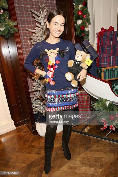 Actress Camilla Belle attends Brooks Brothers holiday celebration with St Jude Children's Research Hospital on December 3 2016 in Beverly Hills...