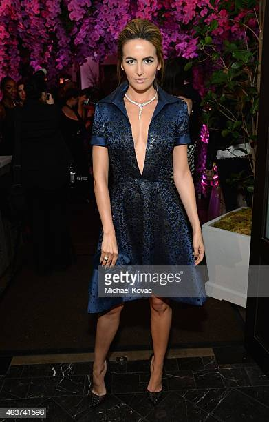 Actress Camilla Belle attends BVLGARI and Save The Children STOP THINK GIVE PreOscar Event at Spago on February 17 2015 in Beverly Hills California
